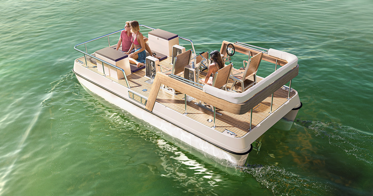 serenity 550 view aft
