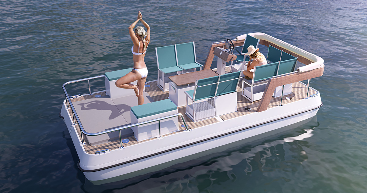 serenity 550 electric no roof